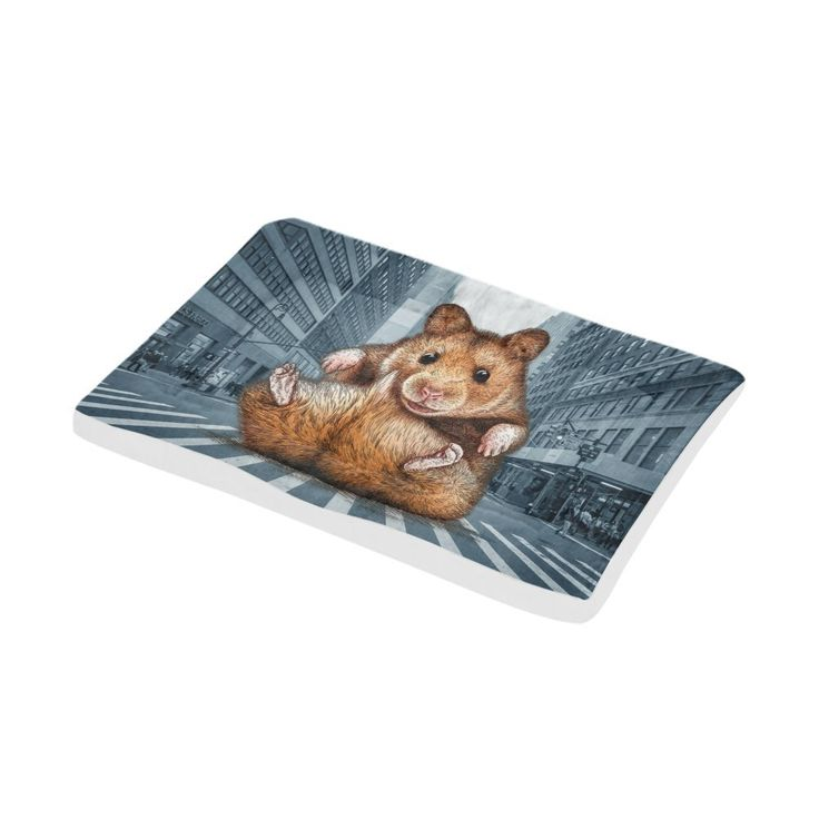 Artsadd mouse puppies bed pet bed for dogs and cats 36x23