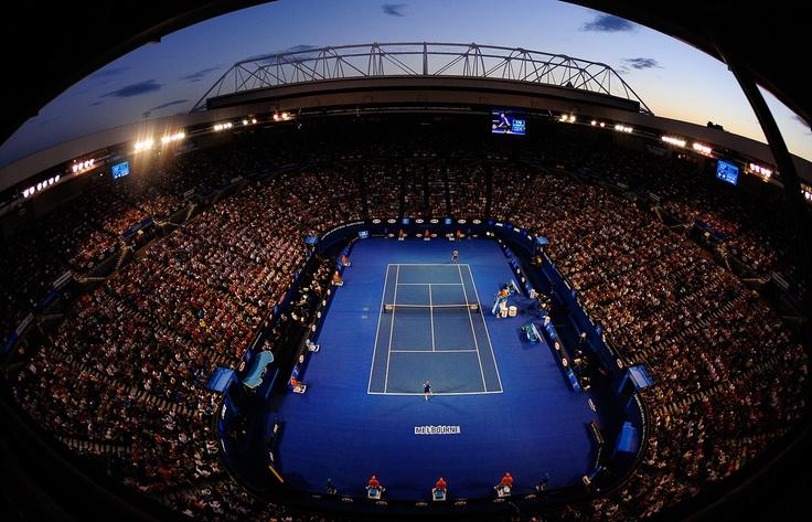 Rod Laver Arena - Melbourne Park  Australian Open 2013. #ausopen #tennis  http://www.australianopen.com