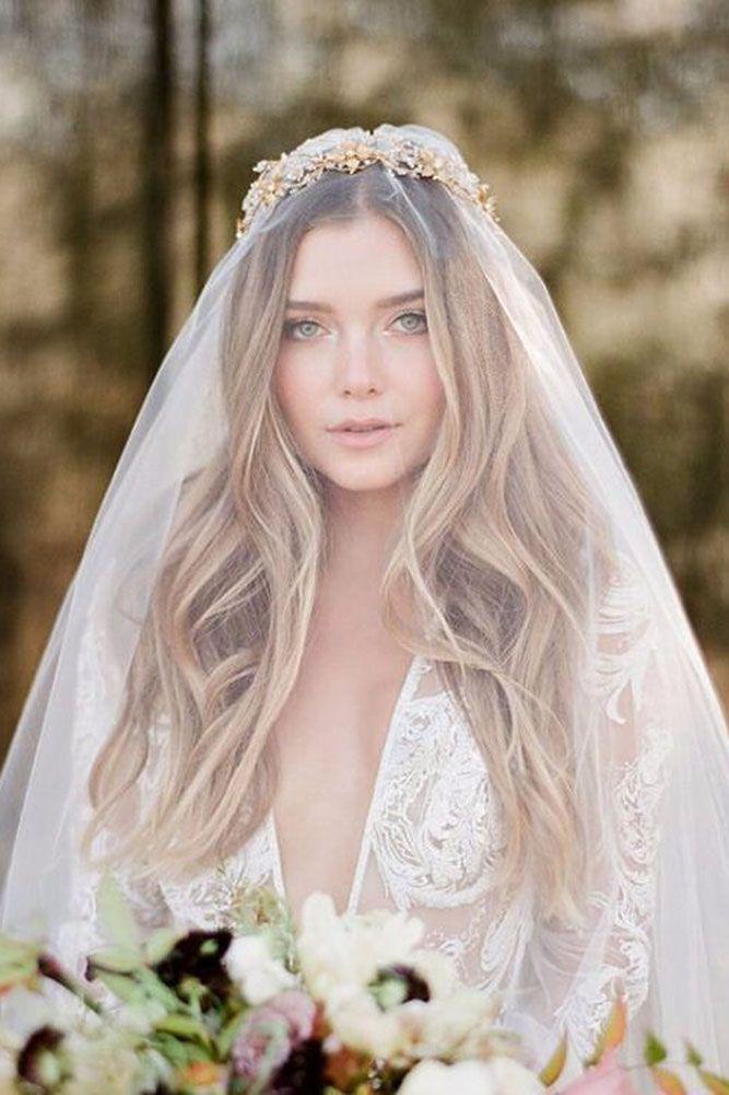 Weddinghairstyles Veil Hairstyles Wedding Hairstyles With Veil Veil Hair Down