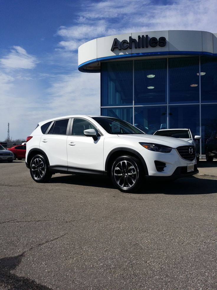 2016 Mazda CX5 GT finished in Crystal White Pearl