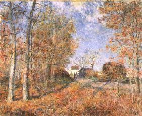 Alfred Sisley - Esquinas forestales de Sablons