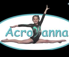 Follow me if you watch Acroanna or bratayley and if you think she's a good gymnast