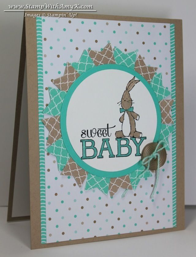 360 best Stampin Up Baby cards images on Pinterest   Baby cards ...