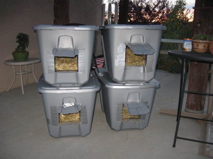 Winter Homes for my Feral Cats - Santa Fe Scoop