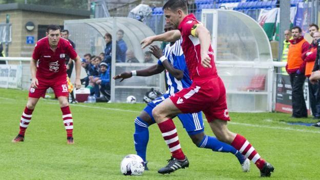Welsh Premier League side Connah's Quay exit Europe
