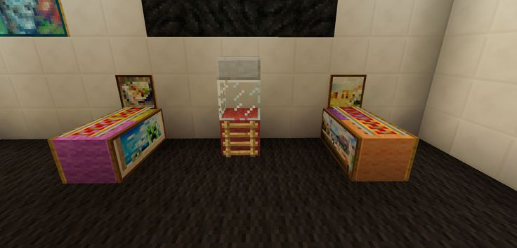 Minecraft Arcade Game Room