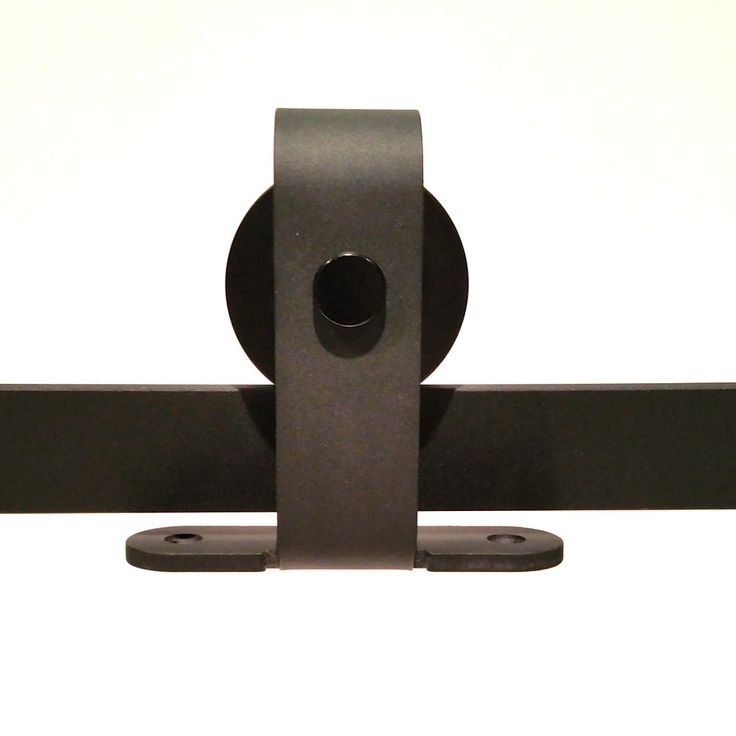 Our top mount barn door hardware is for a sleeker door for Top mount barn door hardware