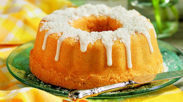 Recept saftig citronkaka