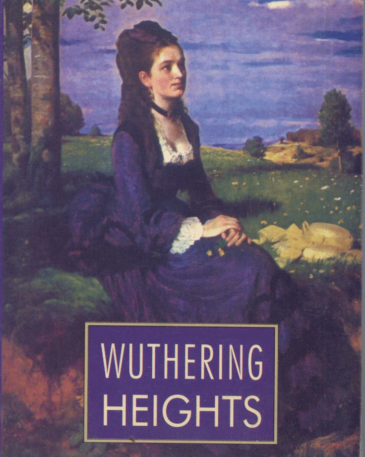 Wuthering Heights - by Emily Bronte    Perhaps the only book by a Bronte worth reading.