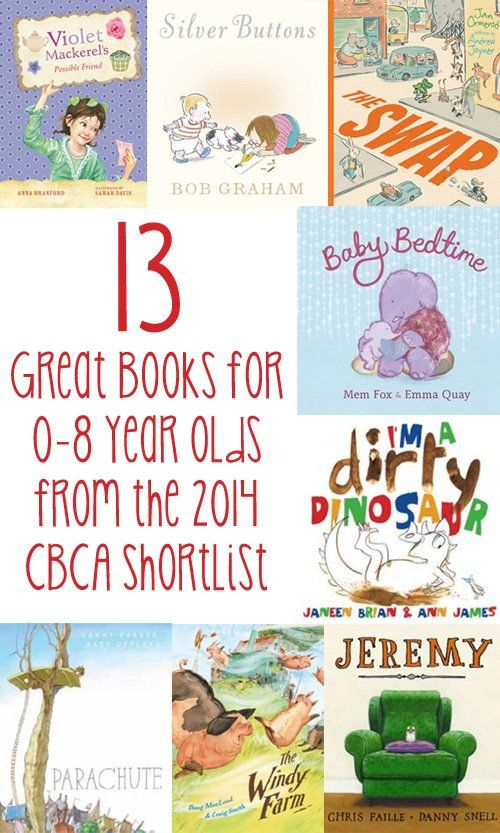 13 Great Books for 0-8 Year Olds from the 2014 CBCA Awards Shortlist | Childhood101