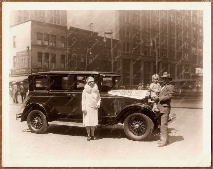 SNOOKUMS Sunny Jim McKeen EAST COAST TOUR 1927 STUDEBAKER ERSKINE SIX NYC Y