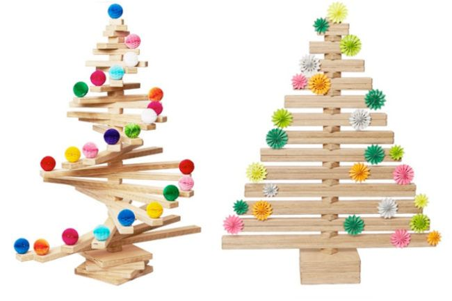 Wooden Spiral Christmas Tree Alternative Christmas Tree Spiral Christmas Tree Wooden Christmas Trees