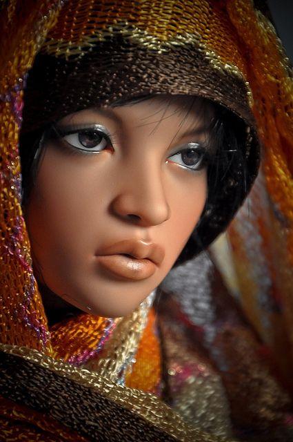 brown dolls BJD 118/365: Shakina Imani  by Frank in wa, via Flickr
