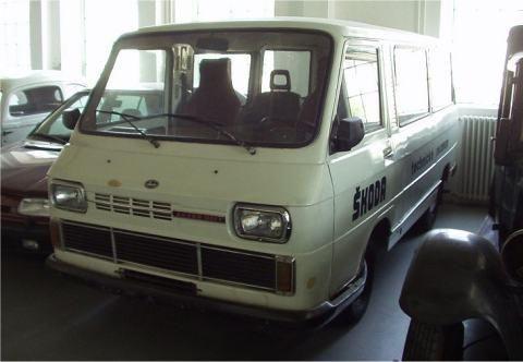 OG |1972 Škoda 1203 typ 778 | Prototype