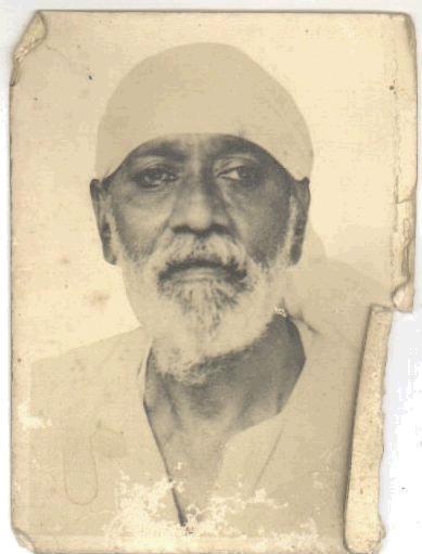 Famous Photos: Original Photo of Shri Saibaba