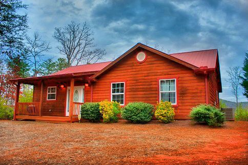 Cabin Rental in Helen Georgia 3 Bedroom w/Pool Table and Mountain View $159-$179 a night