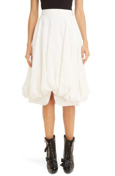 LOEWE Linen Balloon Skirt. #loewe #cloth #