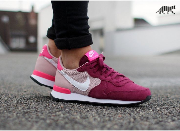Nike wmns Internationalist (Villain Red / White - Champagne - Pink Pow) - Nike Internationalist | asphaltgold