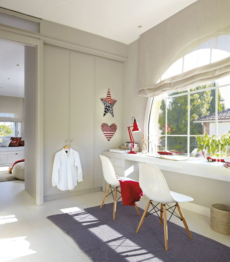 10 habitaciones perfectas para estudiar · ElMueble.com · Niños