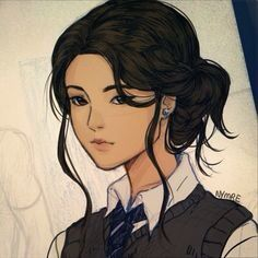 I would think Cho Chang would look a bit like this, but you can correct me if I'm wrong.