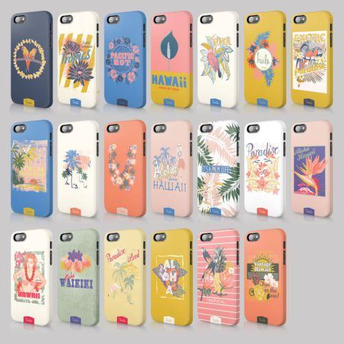 Tirita-PARADISO-TROPICALE-HAWAII-PALME-ESOTICHE-Custodia-Floreale-Cover-Rigida-per-iPhone