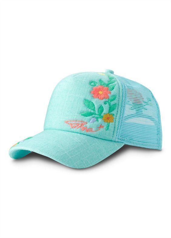 fcc30b9116c4bc Succulent Green PrAna Embroidered Trucker   Accessories > Women's  Accessories > Hats & Headbands
