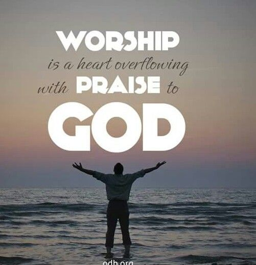 A heart overflowing with Praise