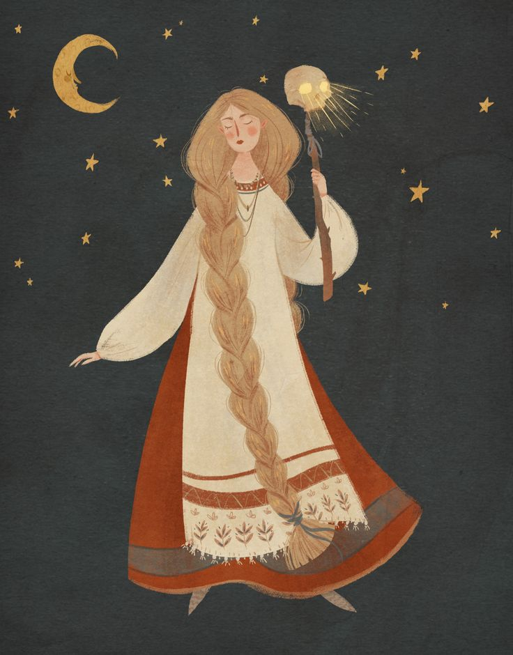 taryndraws:    I was so inspired by the Russian fairy tale illustrations of Ivan Bilibin! <3