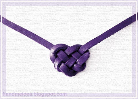 DIY: Celtic Heart Knot Necklace or Bracelet