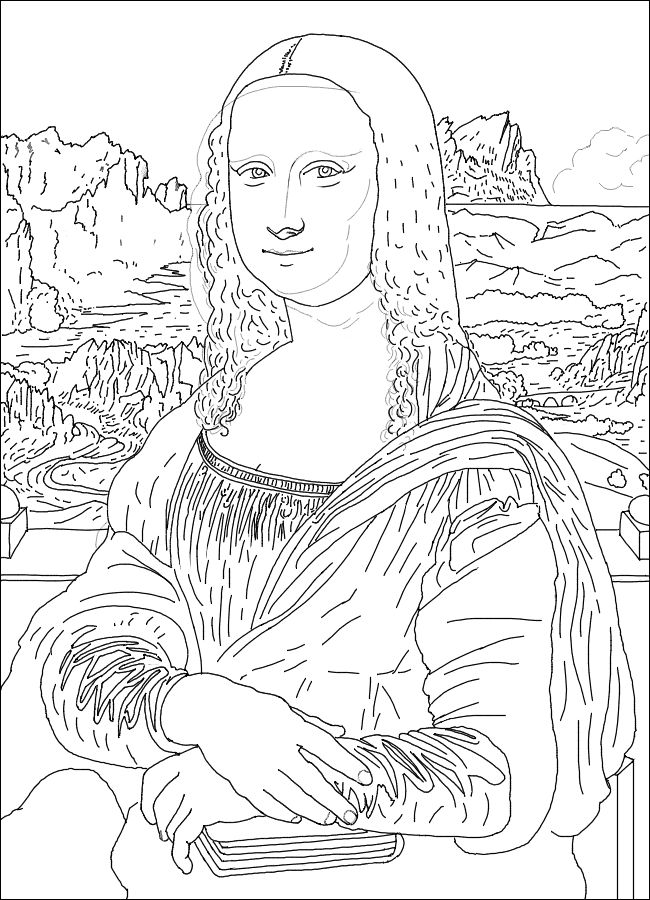 Emejing Painting Coloring Images New Printable Coloring Pages