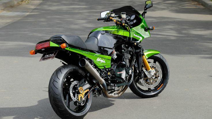 Kawasaki GPZ 900 R. Modified by RCM Sanctuary.