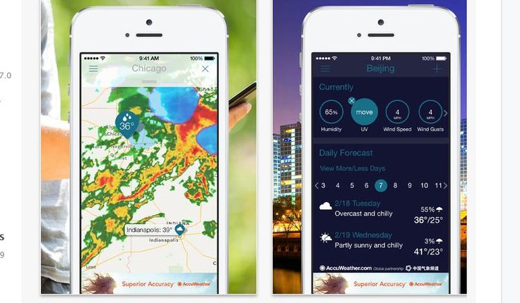 Top 10 USA iPhone iPad Weather Apps 2014