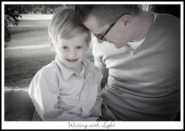 Father and Son Narellan Sydney photography studio. Newborn photography | Changing of Seasons