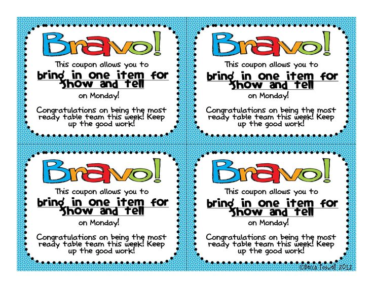 Foxwell Forest: BRAVO Board and Reward Coupons FREEBIE {Classroom Management System}