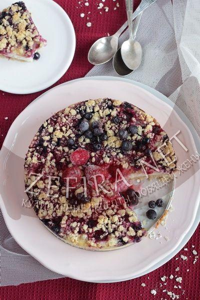 Пирог из овсянки с творогом-домашние рецепты с фото