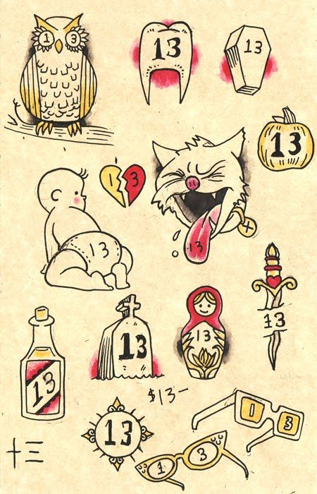 Best 25 friday the 13th tattoo ideas on pinterest for Friday the 13th tattoo specials near me