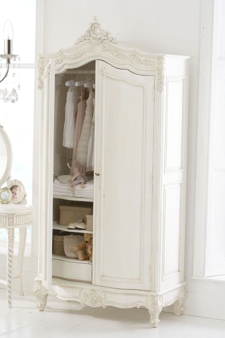 17 best ideas about shabby chic wardrobe on pinterest. Black Bedroom Furniture Sets. Home Design Ideas