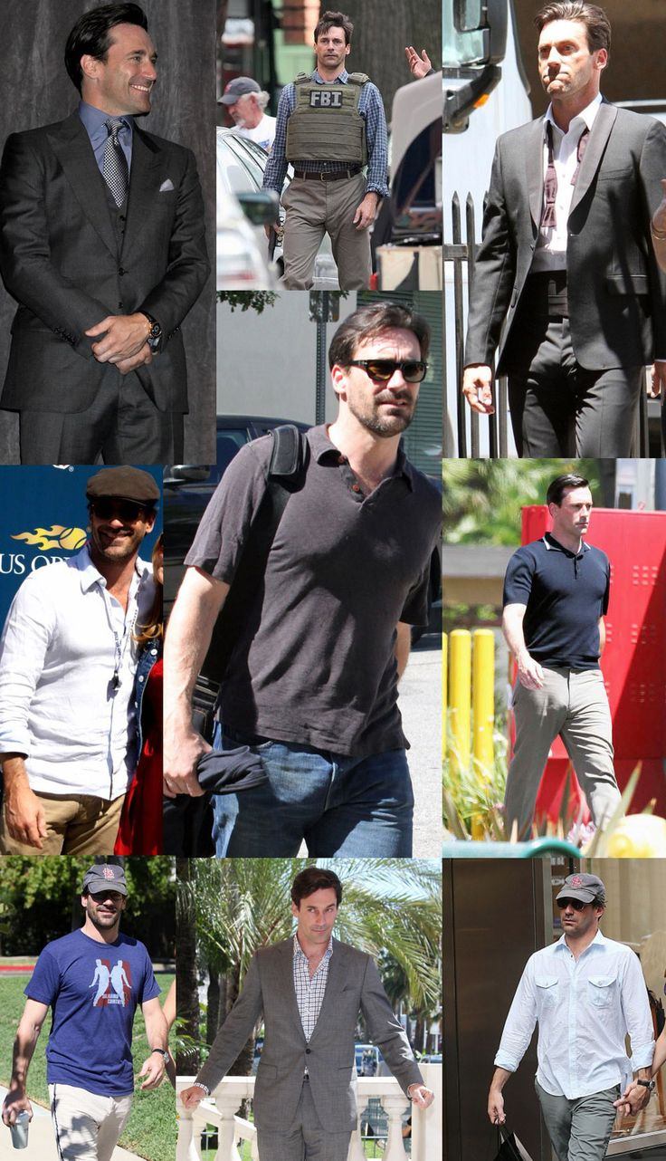 John Hamm's crotch bulge is epic. The pic on the bottom right corner: Is that even real, or is it photoshop? 'Cos you can see everything. His pants are like the Shroud of Turin, but for a dick. Click to enlarge if you don't see it, and you're welcome.