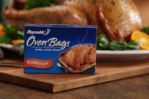 Herb Roasted Turkey - in a bag is way easier and more moist! Guess I should start planning