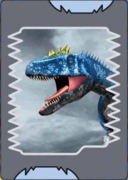 Dinosaur King Deinonychus Card Dromfej Top