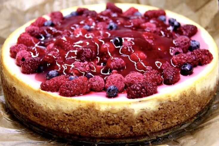 Cheesecake s lesným ovocím - Zo srdca do hrnca