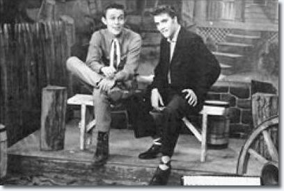 March 23, 1956 Jimmy Dean and Elvis  on the Jimmy Dean WMAL-TV Show, .