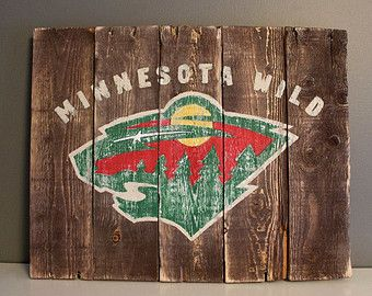 "Minnesota Wild Wood Art Sign 14""x17"""