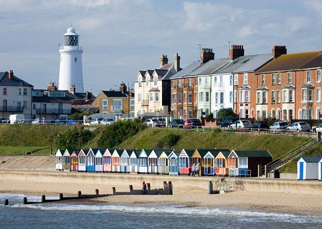 Southwold in Suffolk.  Fantastic victorian town. Adnams brewery - beer of the Gods!