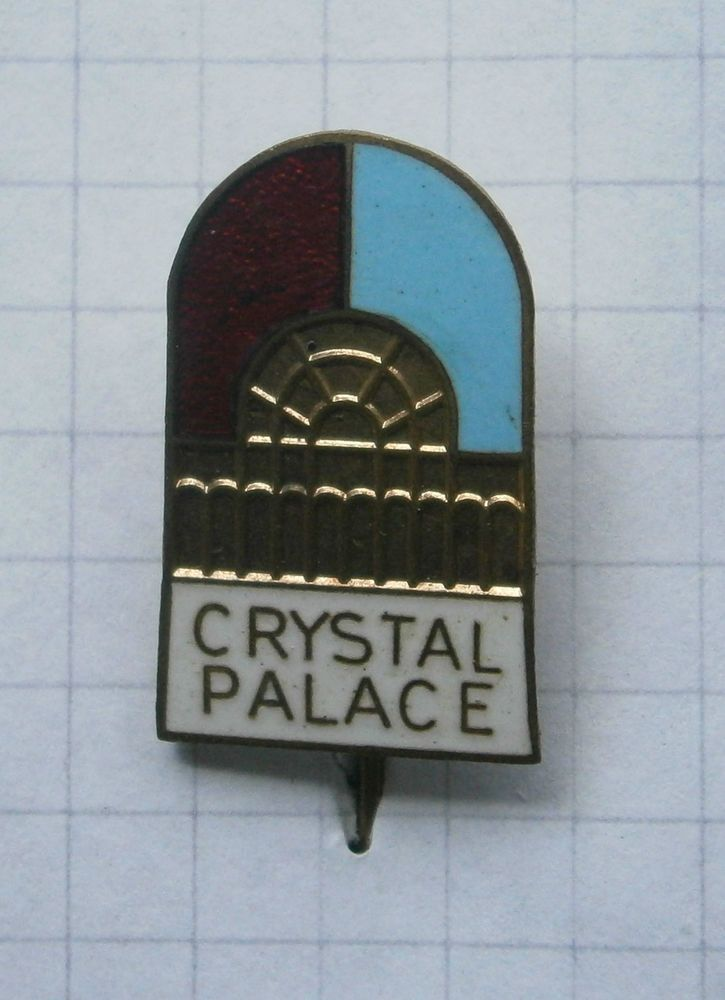 ENGLAND / THE FA / CRYSTAL PALACE FC FUSSBALL .. Alte Nadel/Kein Pin (K15/2)