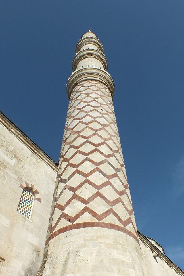 Üç Şerefeli Camii, Edirne.