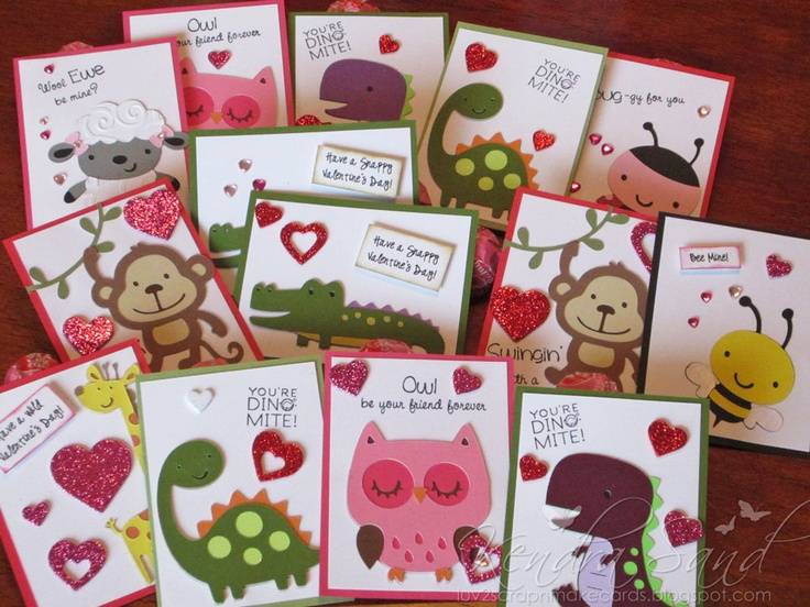 13 best images about Valentines – Animal Valentine Cards