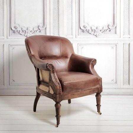 Hemmingway Havana Leather Chair   Armchairs   Footstools   Furniture40 best D E C O N S T R U C T E D images on Pinterest   Armchairs  . Havana Leather Armchair. Home Design Ideas