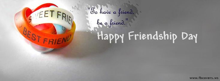 Awesome Happy Friendship Day 2014 Facebook Cover Page Wallpaper