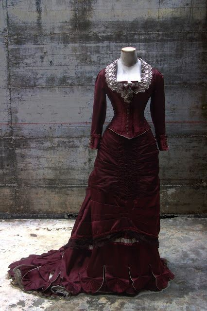 "ANTIcostume: 1875 RECEPTION DRESS  (""The age of the innocence"" ..."